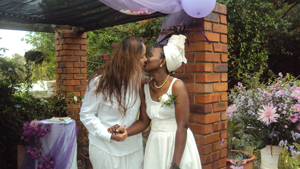 This is the day I make you mine – the tale of a lesbian wedding.